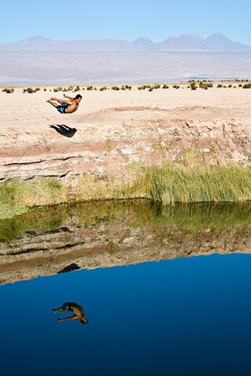 Plongée dans le désert