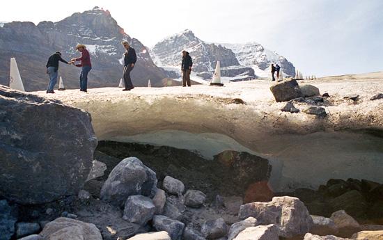 Si le désert avance, les glaciers reculent