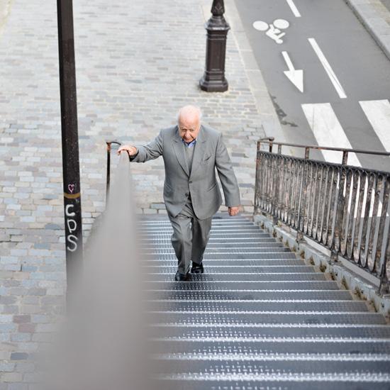 La montée des marches