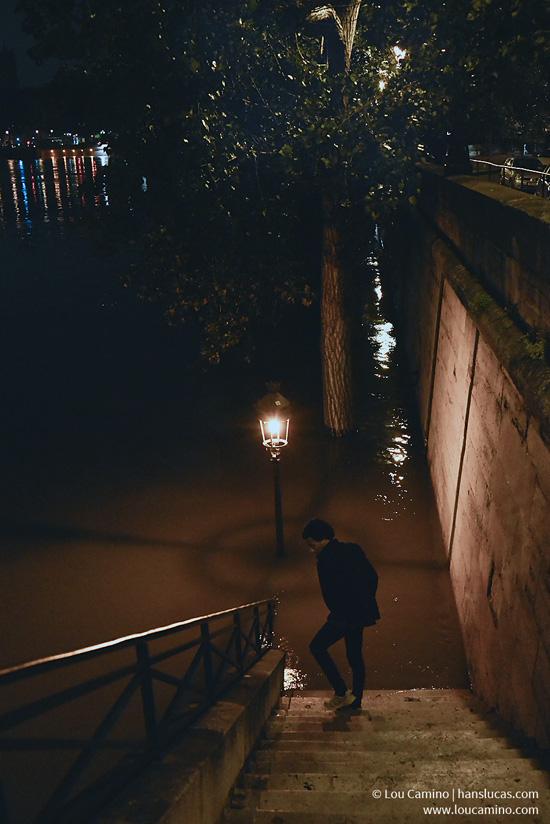 Paris ville lumière en crue